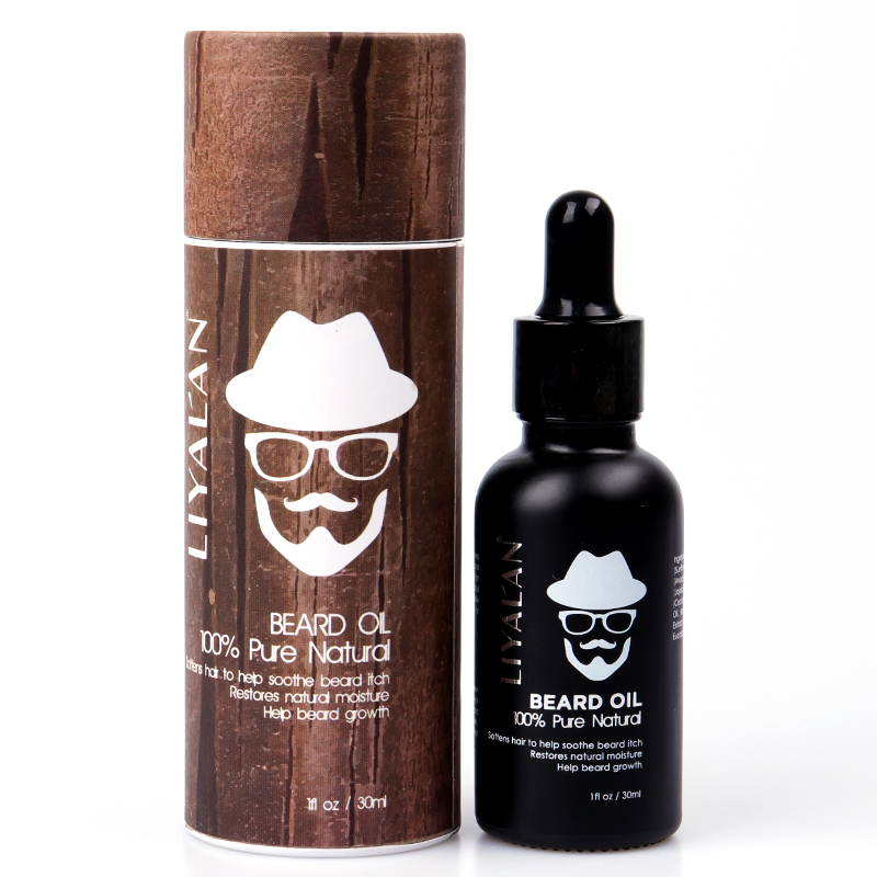 GMPC  Factory Private Label Organic Natural Growing Vegan Mens Growth Beard Oil