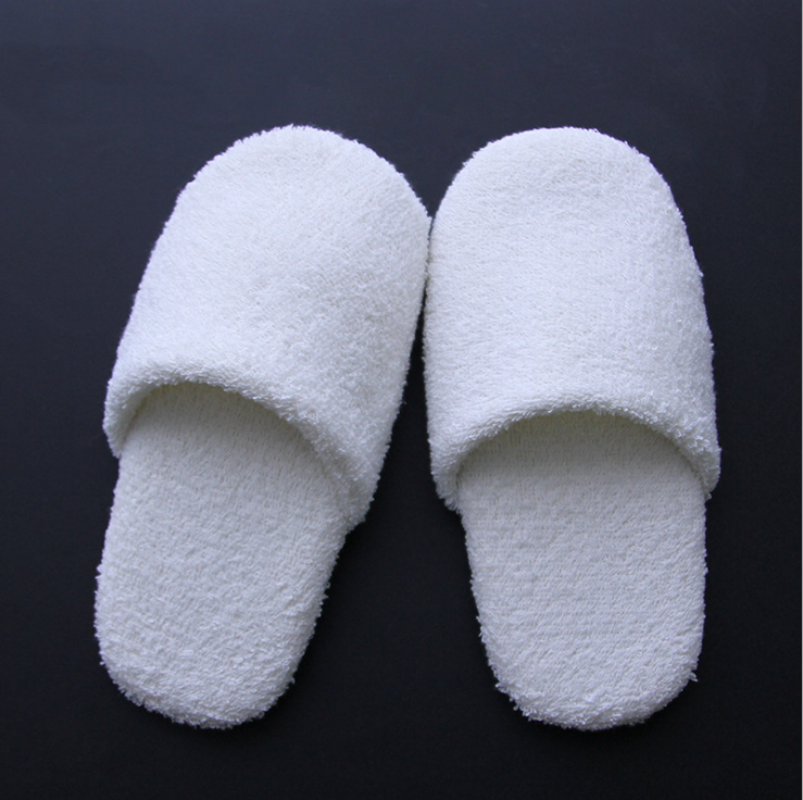 Best quality custom disposable hotel slippers soft thick hotel slippers SPA Slippers