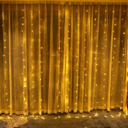 800 LED 330FT açık dize işıkları ile uzaktan kumanda ve zamanlayıcı fişi 8 aydınlatma modları düğün parti için