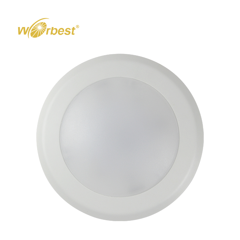 Low Price ETL/cETL Listed 7.5inch 15W 120V CRI90 Dimmable LED Disk Down Light Surface Mounted For Damp Location