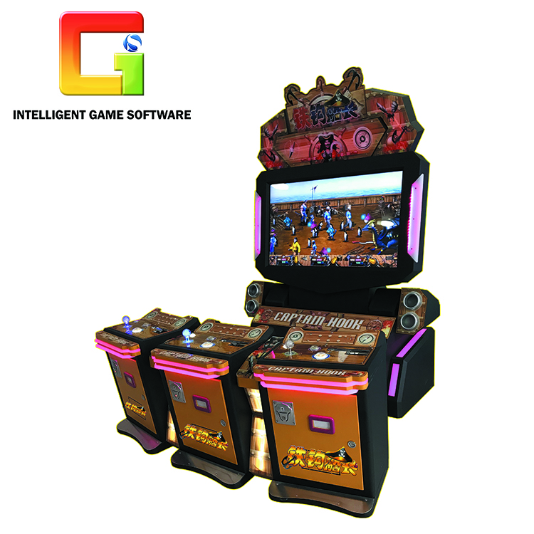 Latest Cabinets Captain Hook Fighting Coin Operated Games