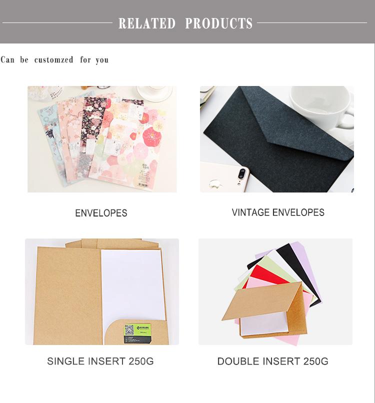 사무실 A4 문서 프레젠테이션 폴더 수제 골판지 파일 용지 폴더