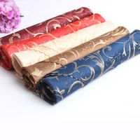 17inch 100% Polyester Jacquard Foldable party restaurant hotel event banquet Table linen Napkins wedding