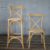High Quality Cross Back Wood Chair For Wedding Events