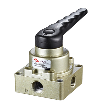 JXPC (4H Series) High Quality Aluminum Alloy Standard Pneumatic Air Control Hand Rotary Valve