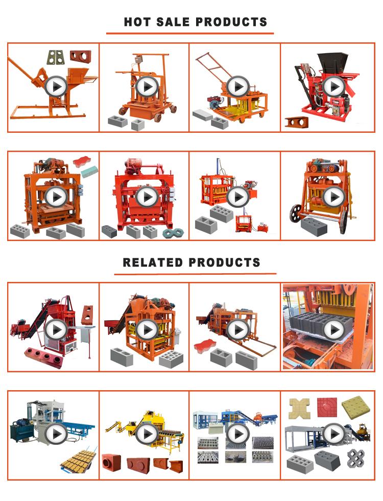 M7M1 Movable hydraulic Interlock block machines red clay brick making machine price in zimbabwe
