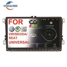 MIDCOURSE Android 8,1 Head Unit Player Auto Radio Stereo RCD510 Für VW Golf 5 6 Jetta MK5 MK6 Passat B6 b7 1G R 4G LTE