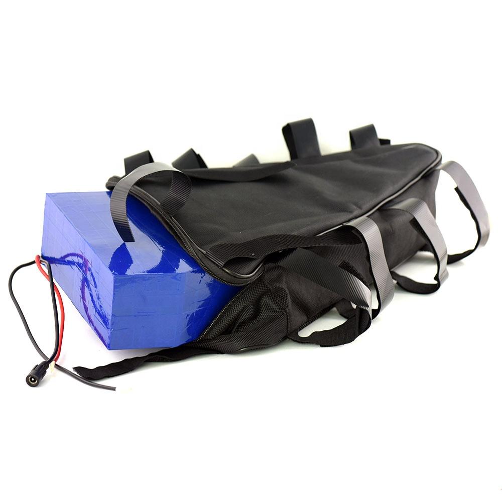 48V 20AH Triangle Bag Battery Pack 48V 1000W Ebike lithium Battery