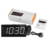 AM FM Radio Multifunction Snooze Display Time Night LCD Light Table Desktop USB Cable table clock