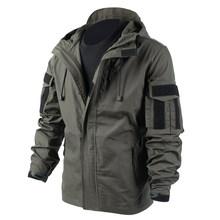 Тактическое пальто для мужчин BACRAFT, армейская униформа, дымчато-зеленая, XXL(Китай)