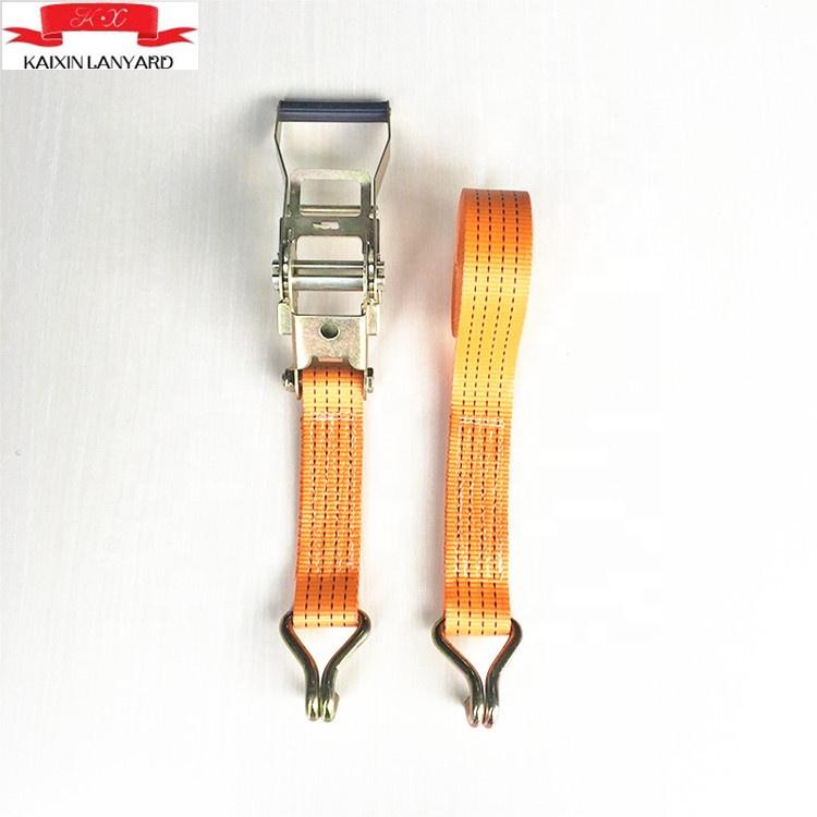 1500Kg Tie Down Ratchetsหัวเข็มขัดพลาสติก