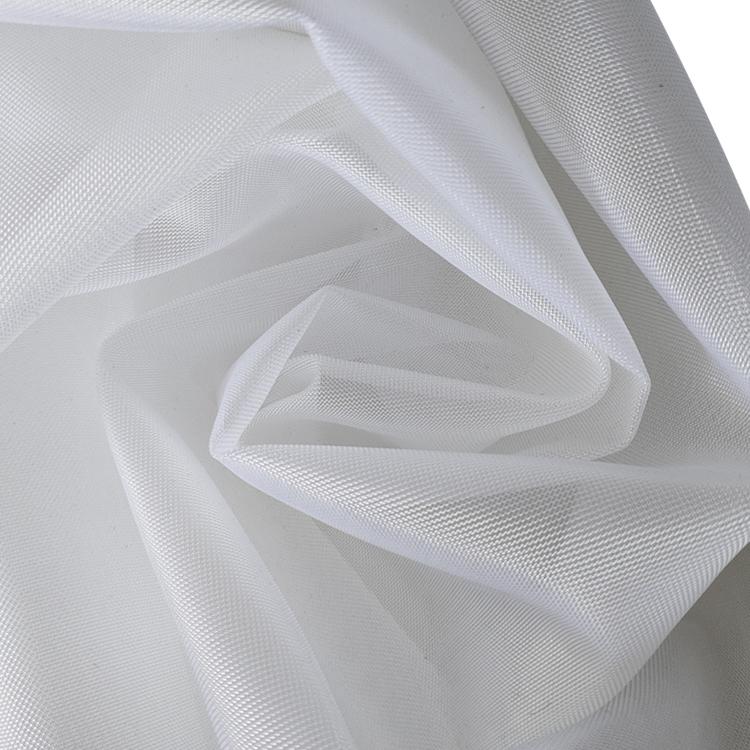 Usine Fournisseur Dur Résistance Filet Crinoline Respirant Rigide 100% En Nylon Maille Tissu Pour Vêtements De Mariage