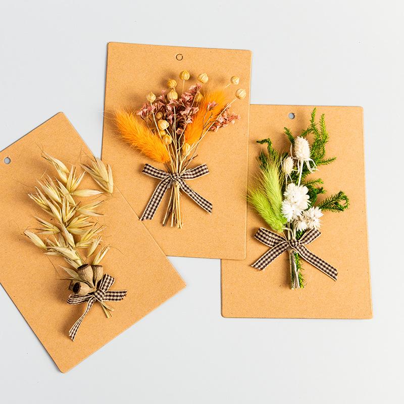 открытки из сухоцветов ручная работа любовь эту дети