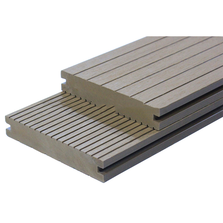 Kelai/ traditional <strong>wpc</strong> decking High quality small grooved wood plastic composite decking outside <strong>decoration</strong>