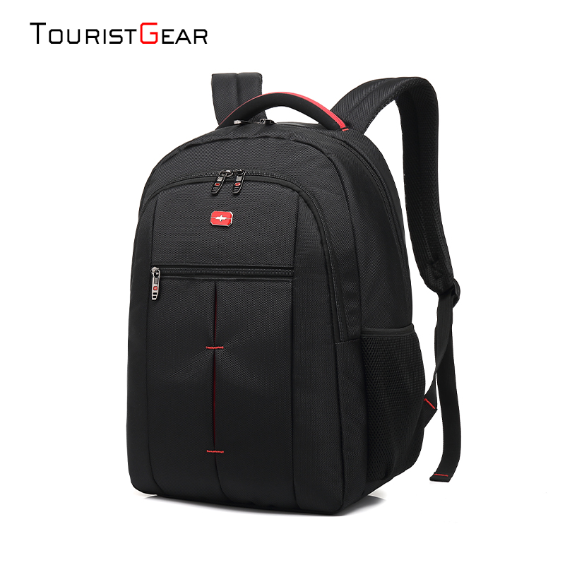 Lightweight Black Daypack Sports Bags Backpacks 15.6 Inch Laptop Bag school backpack