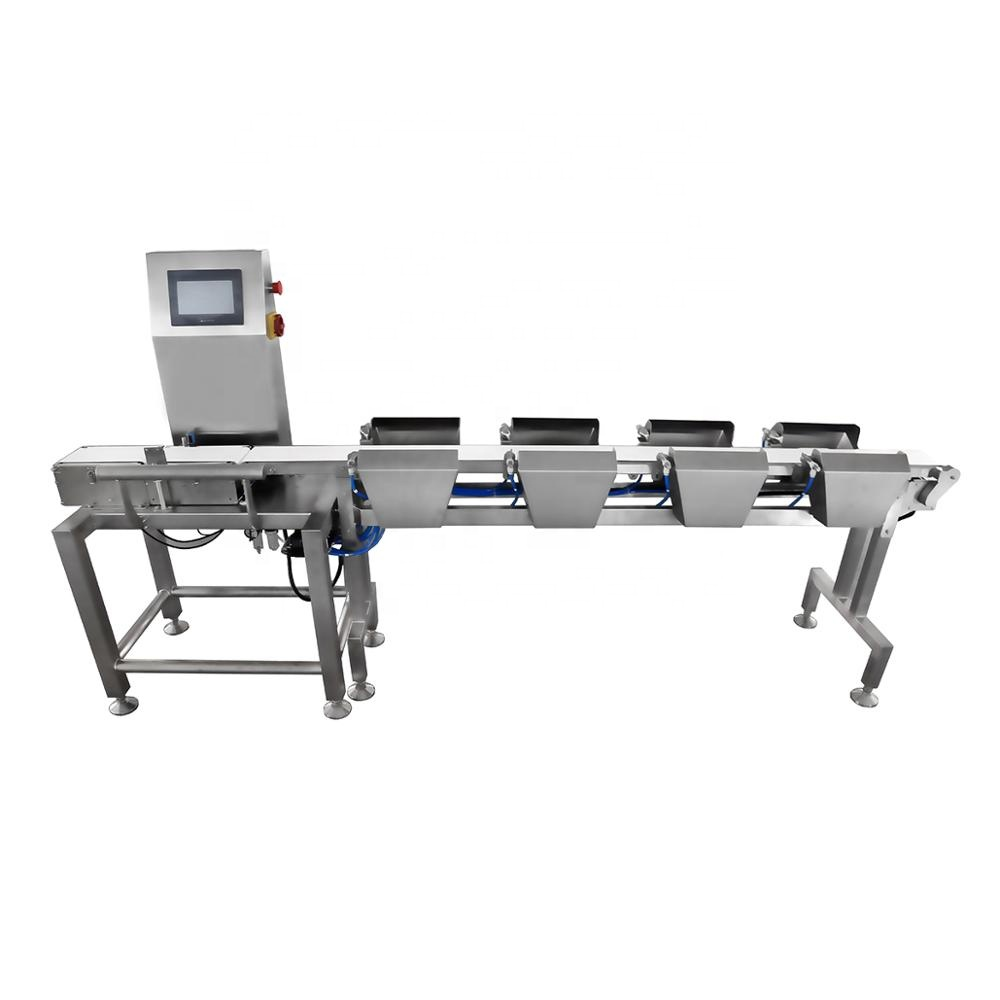 China Factory New Design Conveyor Checking Weigher <strong>Weight</strong> Sorter, check <strong>weight</strong> sorter, Sorting Machine for <strong>Weight</strong>