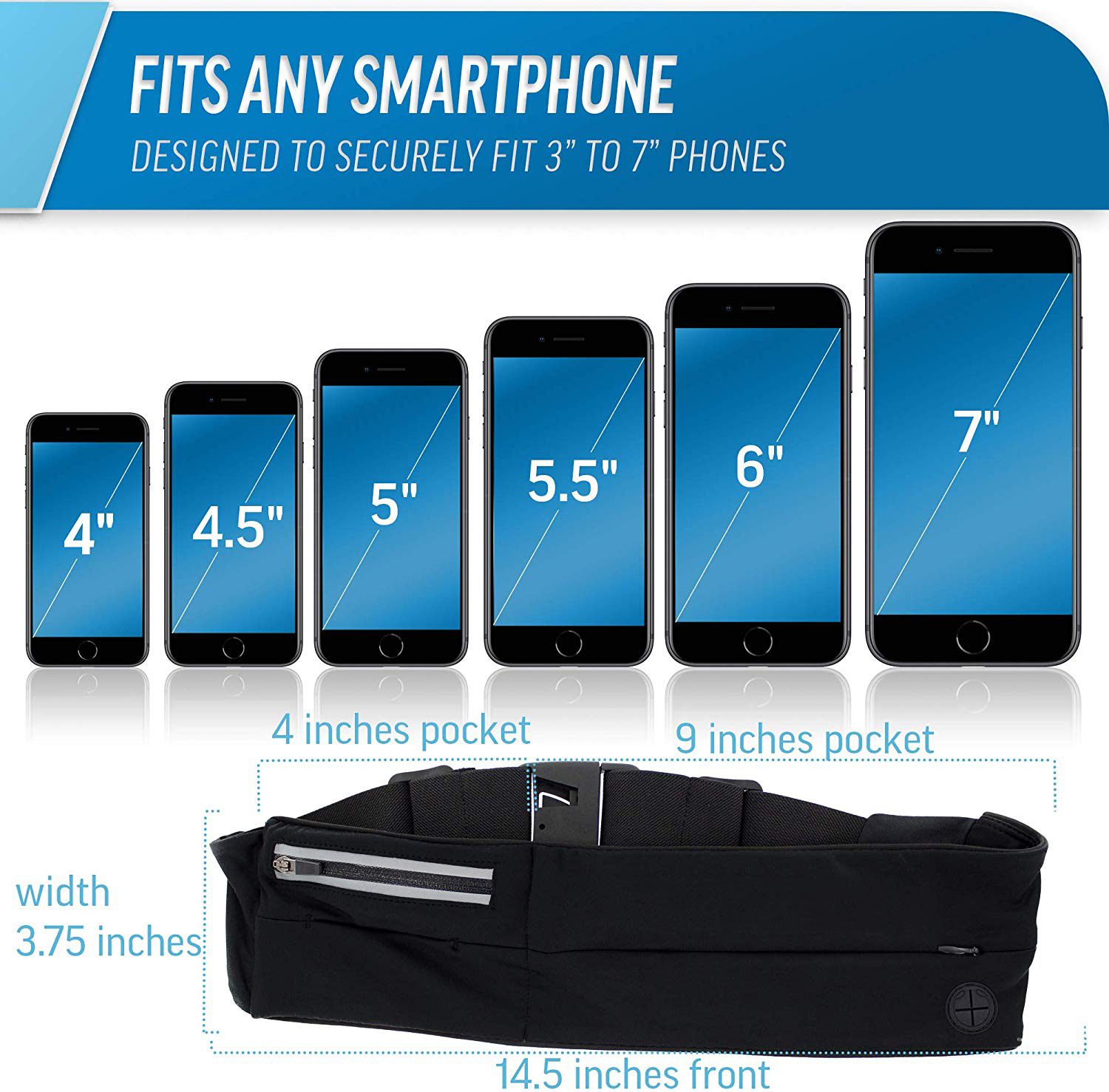 Wholesale best running belt for iphone from china running belt factory