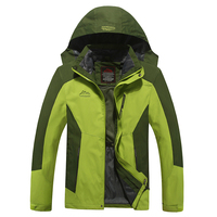 2019 Fashion custom outdoor 3 in 1 rain coat winter motorcycle riding skiing waterproof wind breaker man jacket