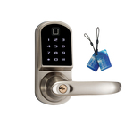 Multifunctional Smart Door Lock Unlocking Ways With Fingerprint, Card, Code, Mechanical Key