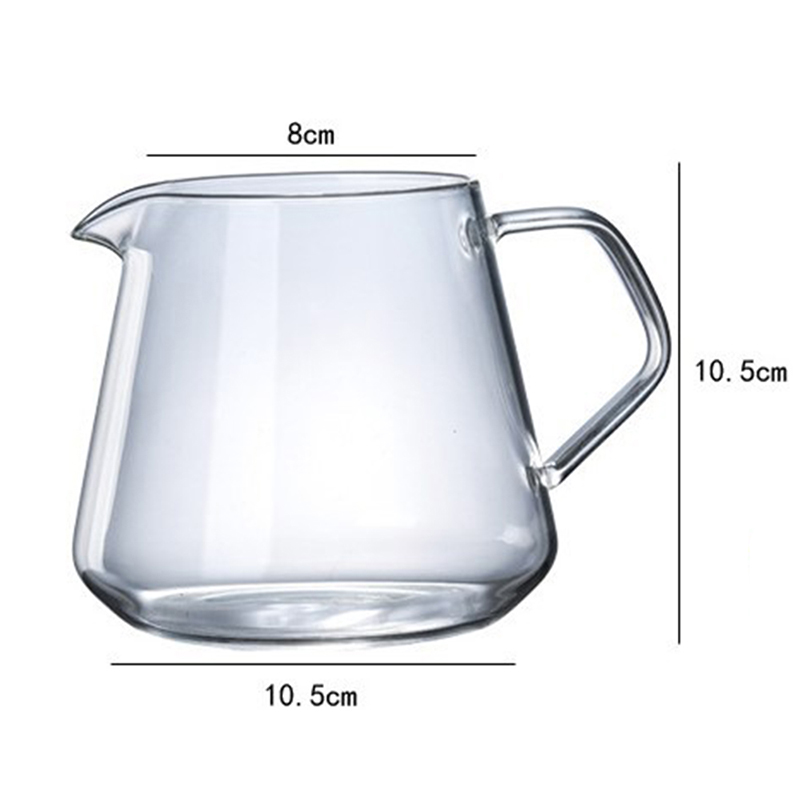400 мл-600 мл Стекло Кофе обмен горшок Кофе сервера вылить графин домашнего пивоварения чашка ручной работы Кофе Кофеварка капельная, для воды ...(Китай)