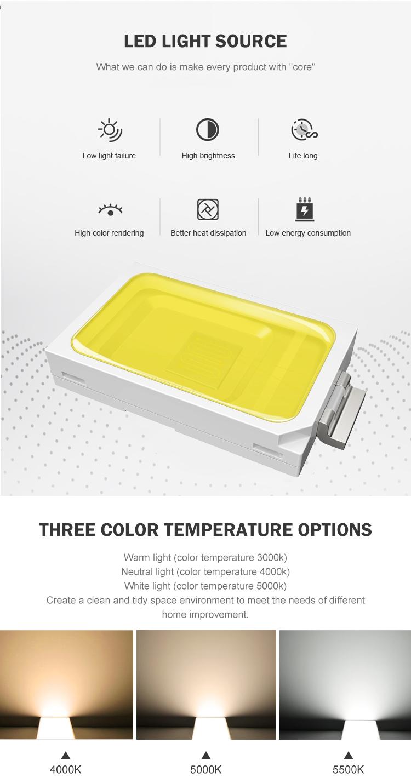 Hot sale surface mounted smd 18watt 24watt 36watt 63watt 85watt led fixture tri proof light