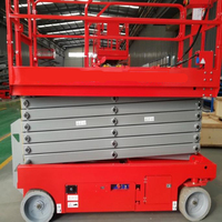hydraulic ing self propelled scissor lift container load scissor lift