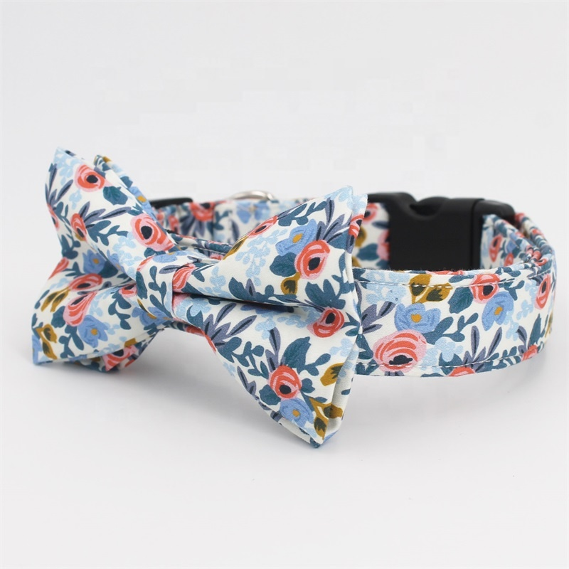 Dog Training Collar Printed Pet Dog Collar Personal Patterns Brand Logo