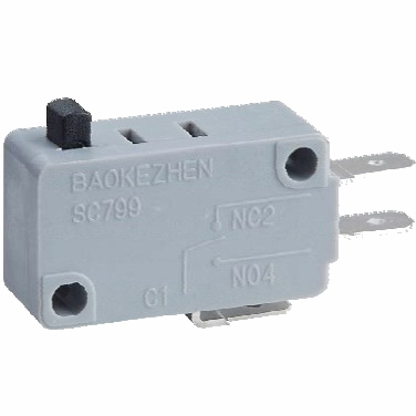 long life reliability micro switch baokezhen micro switch  short lever 5a Waterproof Micro  SC799