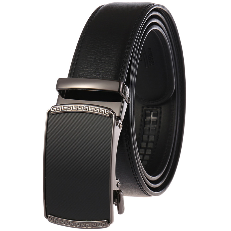 Classic Business Type Waistband Mens Leather Belt  Leather