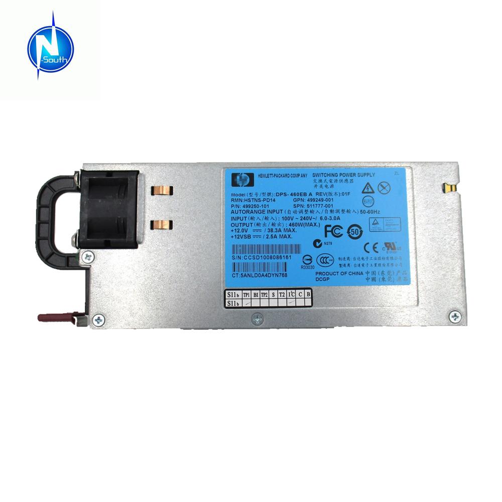 HP DL380P G8 460W Hot-Plug Power Supply 511777-001 499249-001 499250-101