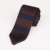 Custom Brand Polyester Men's Stripe Triangle Knitted Ties