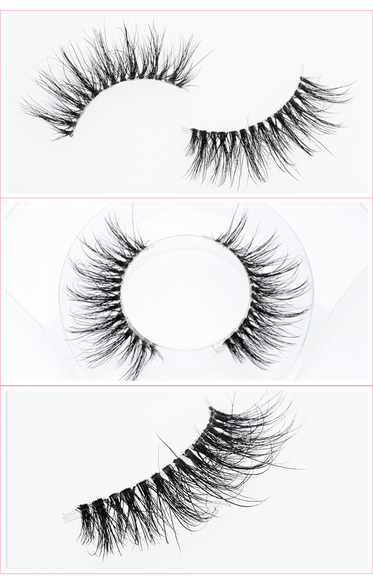 Natural Eyelashes 3D Mink Lashes High Quality Real Mink Lashes