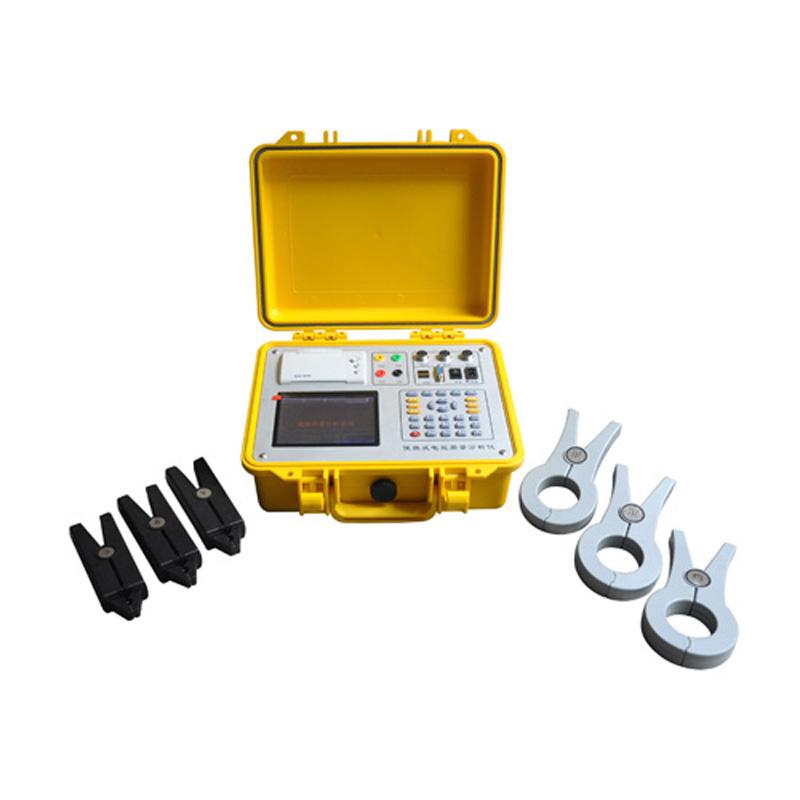 Más precisión y fácil operación eléctrica de análisis instrumento portátil tres fase energía analizador