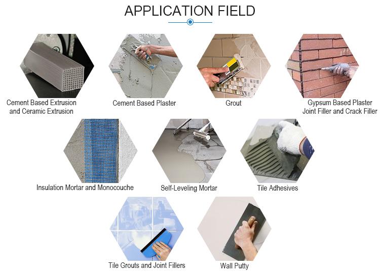 Preço com desconto de vendas aditivo químico rdp polímero em pó adesivo da telha