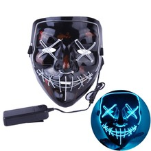 <span class=keywords><strong>Großhandel</strong></span> Party Maske Cosplay Scary Party Dekoration LED Halloween Maske