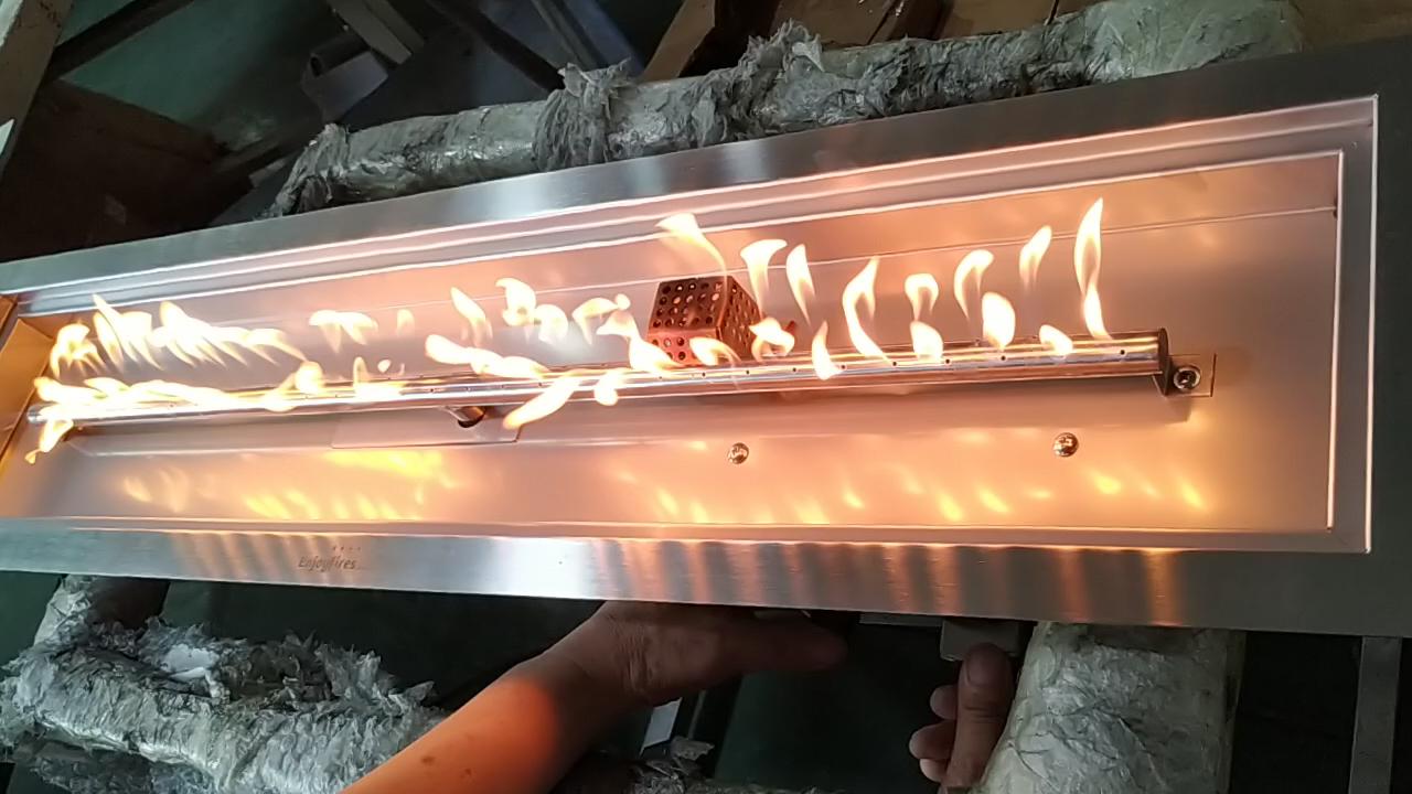 Diy Rechthoek Gas Haard Pan Branders Vuurkorf