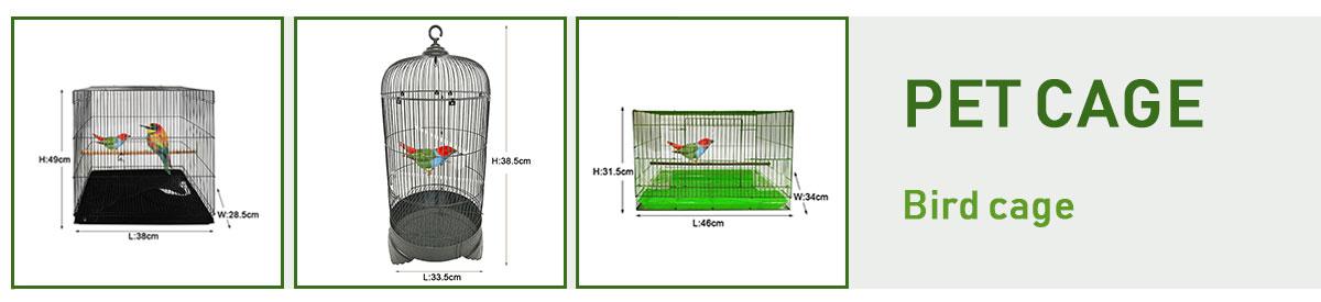 Foshan producent direct koop maat parrot kanarie hoek kooien met folding functie commerciële draagbare outdoor indoor