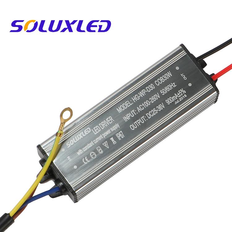 30W 25-36V 900mA Waterproof flood light LED Driver