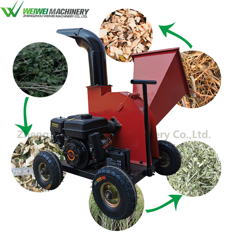 Weiwei wood crusher wood shredder cutters