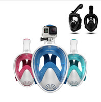 Factory Make Diving Snorkeling Accessory Freediving Mask Snorkel Set