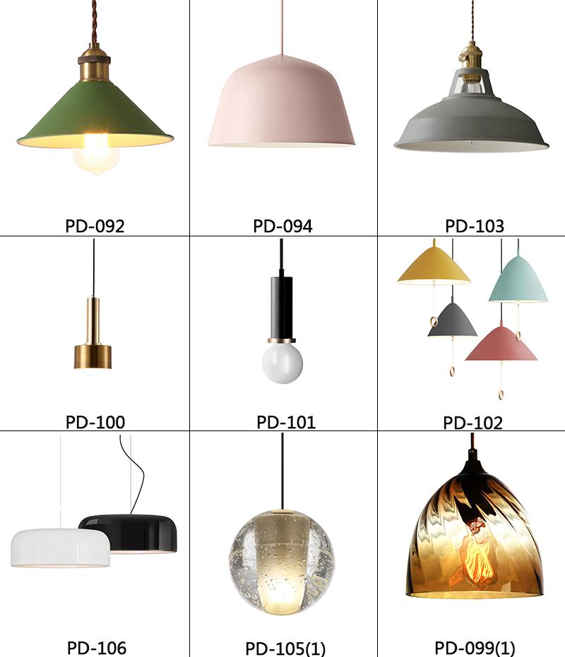 Đèn Treo Nhôm Hiện Đại 2020/Đèn Treo Khách Sạn/Đèn Chùm LED Phong Cách Đương Đại