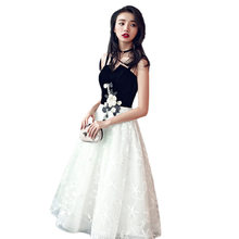 Выпускные платья 2020 It's Yiiya R259 элегантное платье короткое официальное платье без бретелек на молнии на тонких бретелях женские вечерние плат...(China)