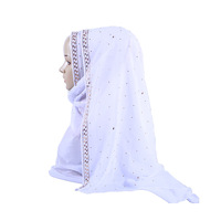Cross-border Source 2018 Factory Direct Selling Baita New Pure Pearl Chiffon Muslim Scarf Cover Shawl