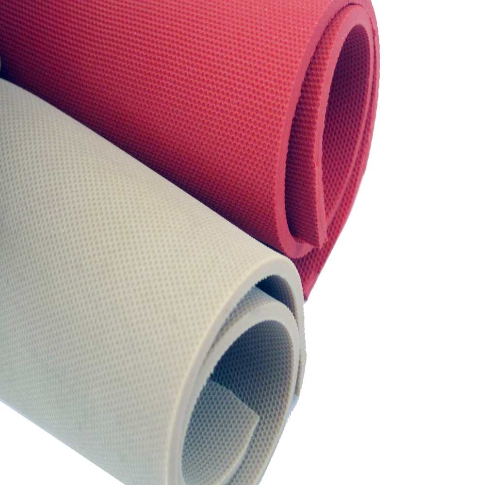 sales promotion rubber lining red natural rubber sheet rolls with good abrasion flexibilities used for mining area