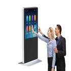 Indoor Screen Digital Kiosk Floor Stand Media Player Windows Digital Signage Interactive Touch Screen Digital Signage Totem Kiosk