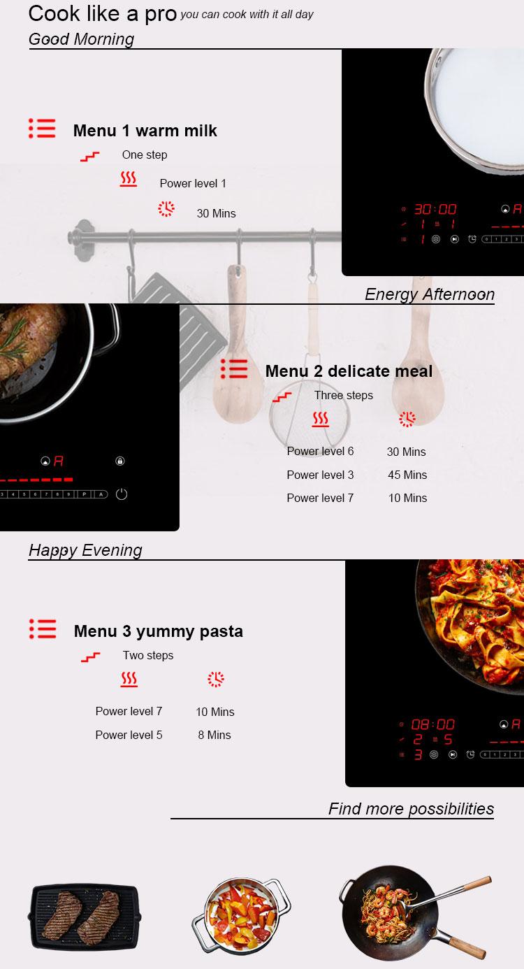 onix, metal fiber burner, double burner,hob induction cooker, stove, cooktop