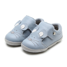 Non-slip Comfortable Hard Sole Cartoon Mouse Casual Children Walking Shoes