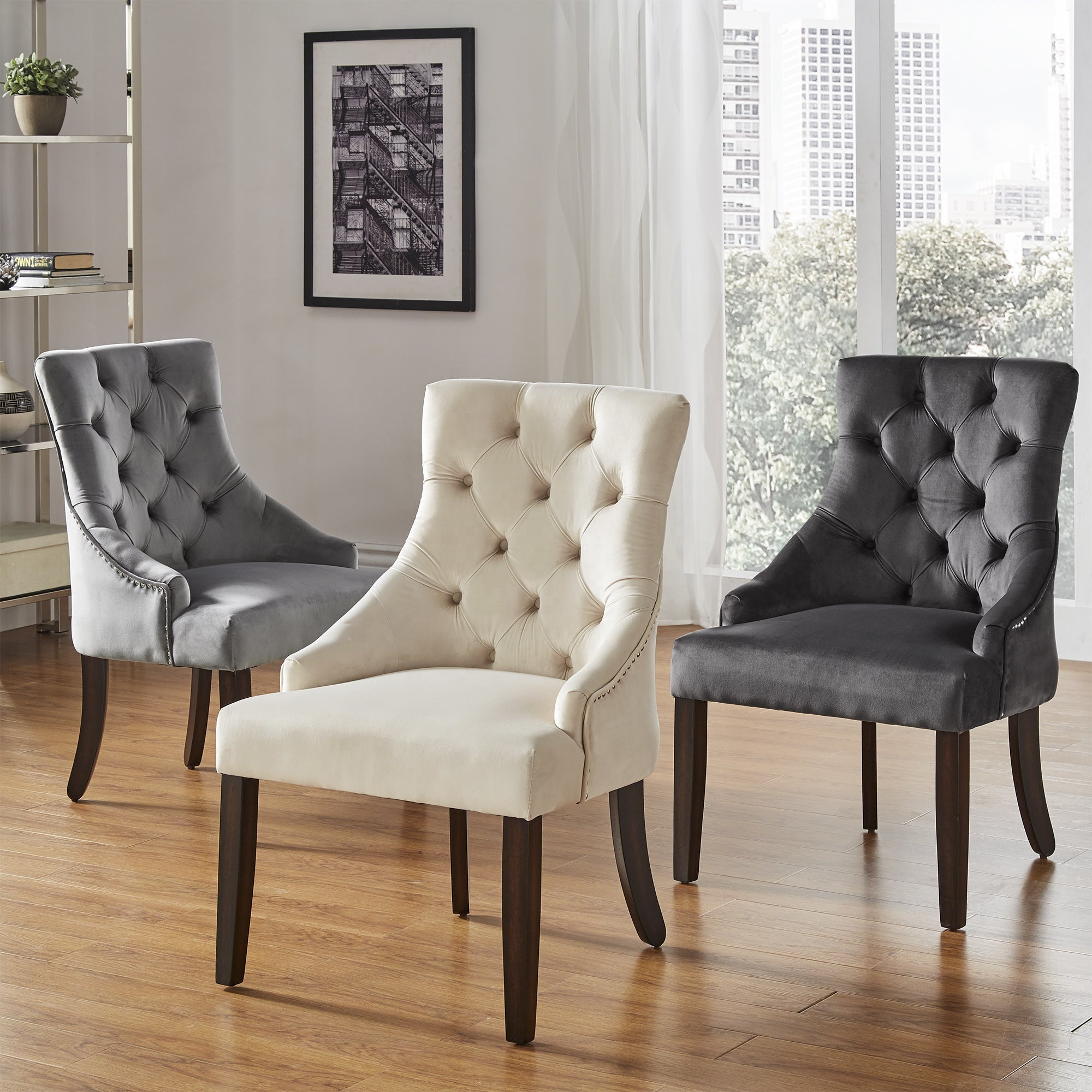 Modern fabric dining room Furniture luxury dining <strong>chair</strong>