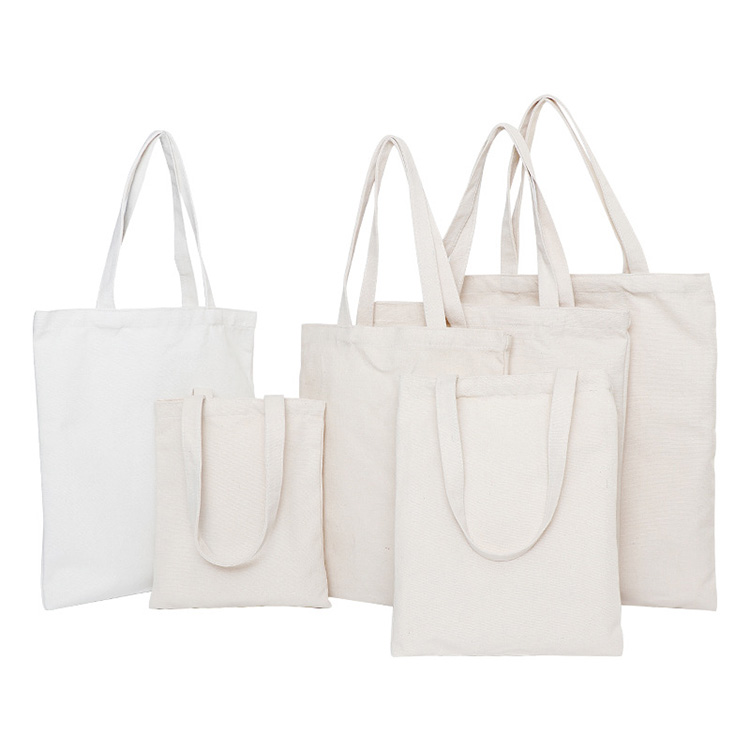 गर्म बिक्री उच्च गुणवत्ता कस्टम मुद्रित लोगो पुनर्नवीनीकरण कपास कैनवास पैकेजिंग खरीदारी ढोना बैग