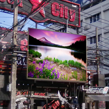 Outdoor LED Video Wall on Sale Wall Mounting P5 LED Panels Message Board Big Billboard